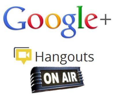 Google Hangout Live Stream